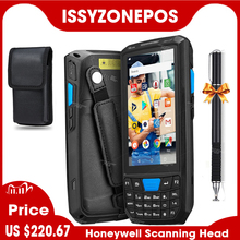Issyzonepos 4G Handheld Pda Android 8.1 Pos Terminal Touch Screen 2D Barcode Scanner Draadloze Wifi Bluetooth Gps Barcode Reader