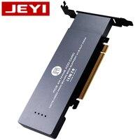 JEYI ihyper-pro m.2 X16 à 4X NVME PCIE3.0 GEN3 X16 à 4 * NVME carte RAID PCI-E VROC carte RAID M.2X16 M2X16 4XX4 NVME * 4 RAID