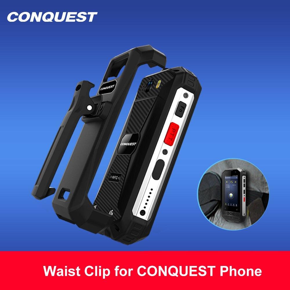 CONQUEST 100% оригинальный поясной зажим для S6 S8 S9 S11 S12 S16 S18 S19 F2 серии прочный смартфон
