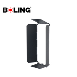 BOLING Black Four Leaf BL-2250SY LED Panel Barndoor For Photography Studio Flash Light BL-2250P BL-2250PB BL2250P BL2250PB
