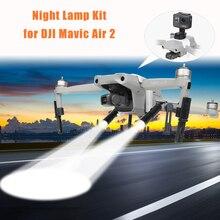 LED Flash Night Flight SearchlightไฟฉายLanding GearขาEXTENSION Bracket KitสำหรับDJI Mavic Air 2 Droneอุปกรณ์เสริม