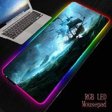 Коврик для мыши mrgbest с подсветкой s/m/l rgb подставка клавиатуры