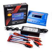 IMAX B6 80 Вт цифровой RC Lipo NiMh батарея баланс зарядное устройство/Dis зарядное устройство+ AC мощность 12 В 5A/15 в 6A адаптер вилка Европа/США