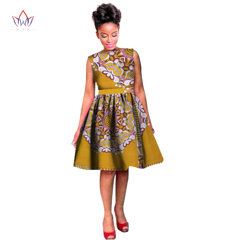 Dashikis Dress Dashiki 2020 Summer Summer Vestidos Տպել - Ազգային հագուստ - Լուսանկար 4