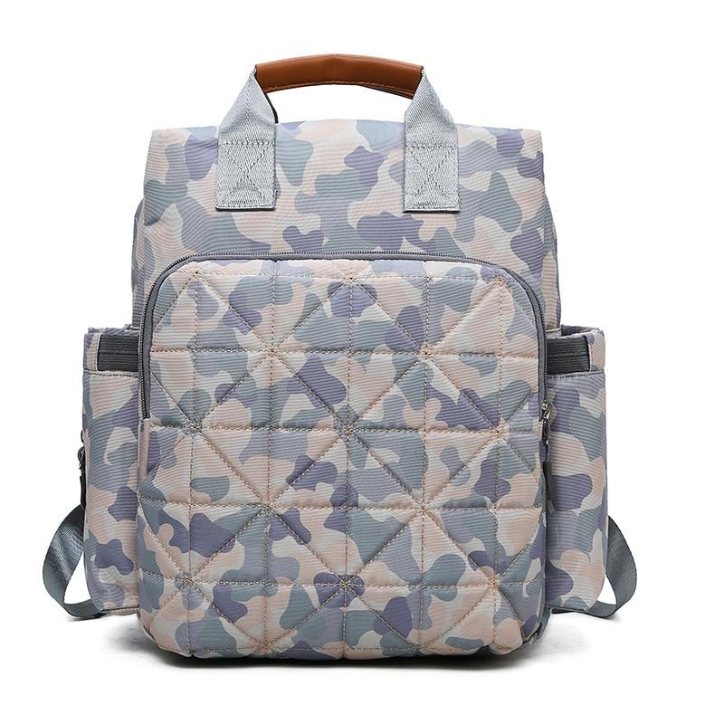 New Style Nylon Mummy Backpack Hand Diaper Bag Multi-functional Storgage Bag Shoulder Nursing MOTHER'S Bag