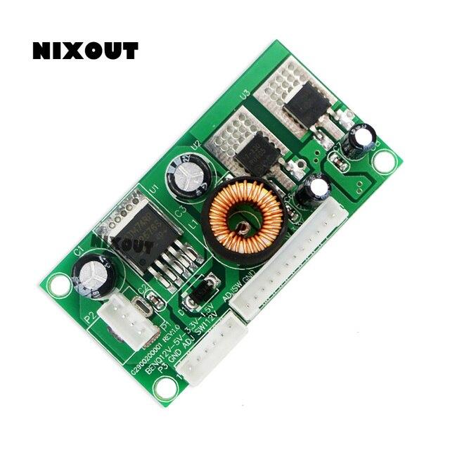 5 CHIẾC/50 PCSLOT CA 1215 12V đến 5V đến 3.3V đến 1.5V điện áp chuyển đổi ban 12V 5V 3.3V 1.5V Module