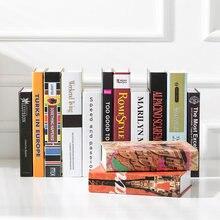 Фальшивого книги украшения современный простой светильник роскошная