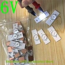 Светодиодные полосы 3v 6v лампы Диоды для подавления переходных скачков напряжения 32-65 дюймов оптический объектив фильтра Подсветка