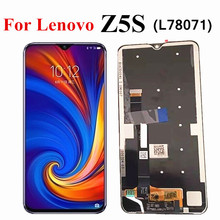 "6.3 ""LCD עבור Lenovo L78071 Z5S LCD תצוגת מסך מגע Digitizer פנל Galss עצרת החלפת Lenovo Z5S LCD"
