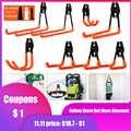 Настенный набор крючков для гаража, вешалка для велосипеда, крючок для подвешивания, металлический крючок, инструмент для хранения на склад...