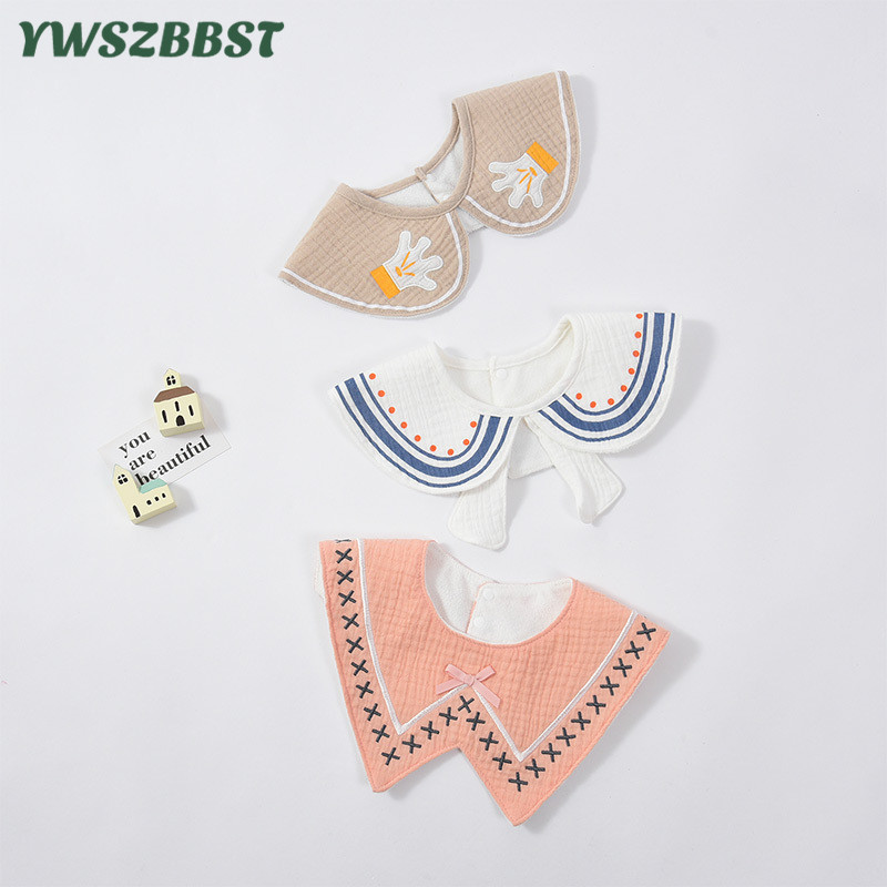 2020 Spring Summer Autumn Baby Neck Ties Baby Bibs Infant Boys Girls Neck Collar Kids Accessory