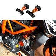 Corpo da motocicleta Modificado Barra de Quebrar resistente para KTM DUKE 125 200 390 anti gota de Cola Em Bastão Deslizante Colisão protetor