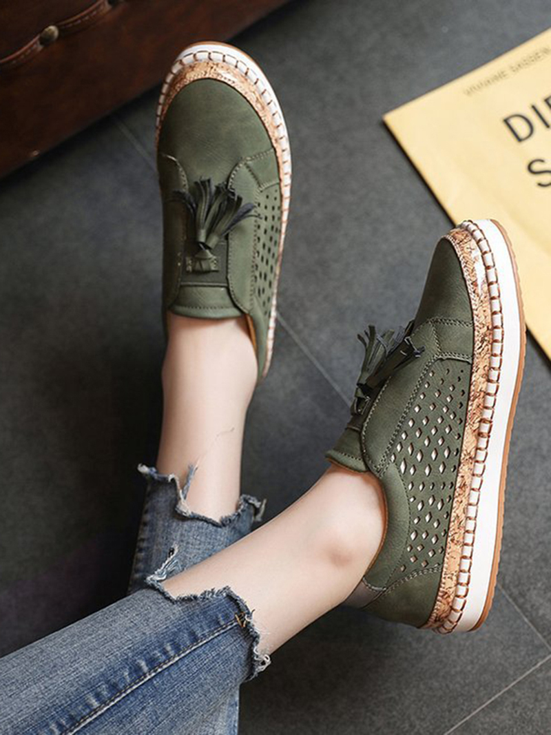Sneaker Women Casual Shoes Fashion Breathble Lace-up Women Vulcanized Shoes Flat Platform Female Sneaker Zapatillas Mujer  (8)