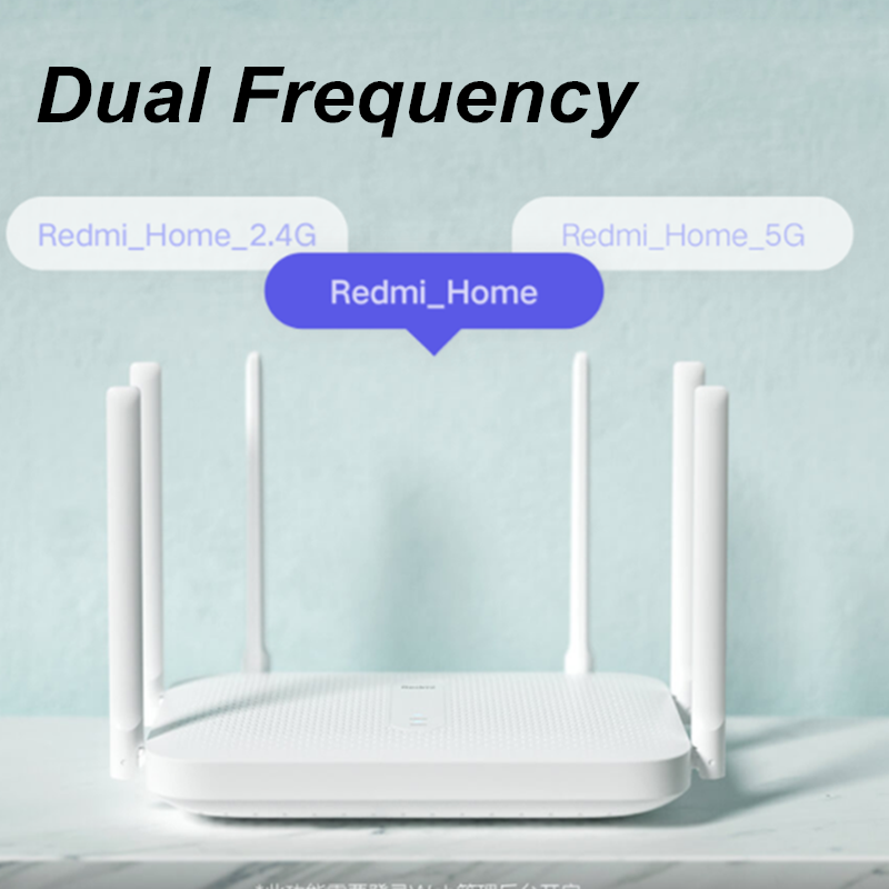 Xiaomi Redmi AC2100 Wireless Router with Gigabit and Dual-Band Repeater along with 6 High Gain Antennas and Wider Coverage 1