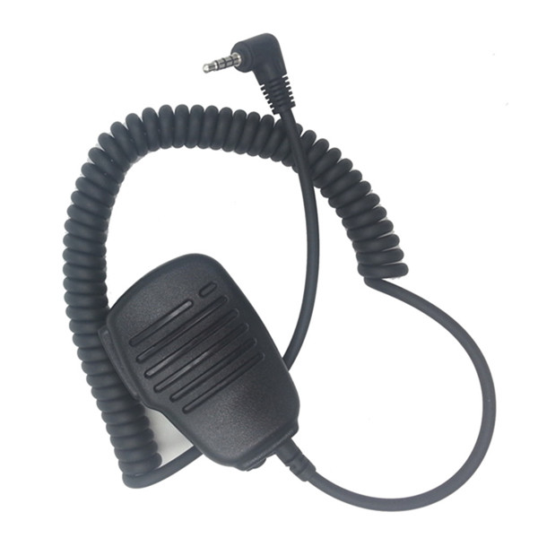 Handheld Microphone Speaker For Baofeng BF-T1 Uv-3R Walkie Talkie  With 3.5mm Audio Jack