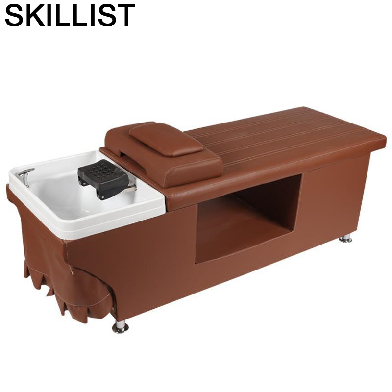 Hairdresser Bed Lavacabezas Peluqueria For De Cabeleireiro Silla Beauty Cadeira Maquiagem Hair Furniture Salon Shampoo Chair