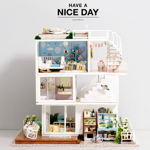 Doll House DIY Miniature with