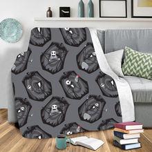 Одеяло с 3d принтом «Кошмар перед Рождеством» переносное одеяло