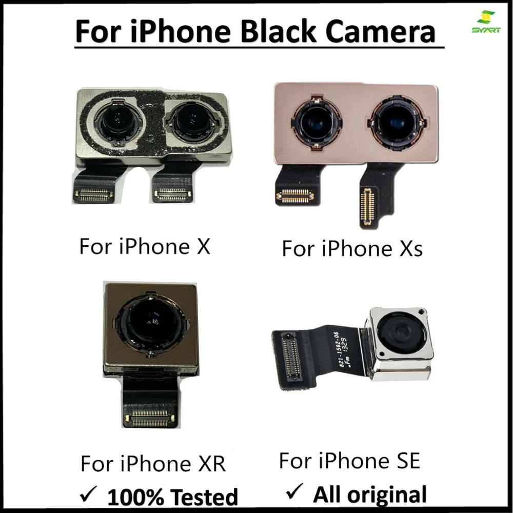 Back Camera For Iphone 5S 6 6s 7 8 Plus X XR XS XS Max Back Camera Rear Main Lens Flex Cable Replacement Parts For Iphone 6 6S