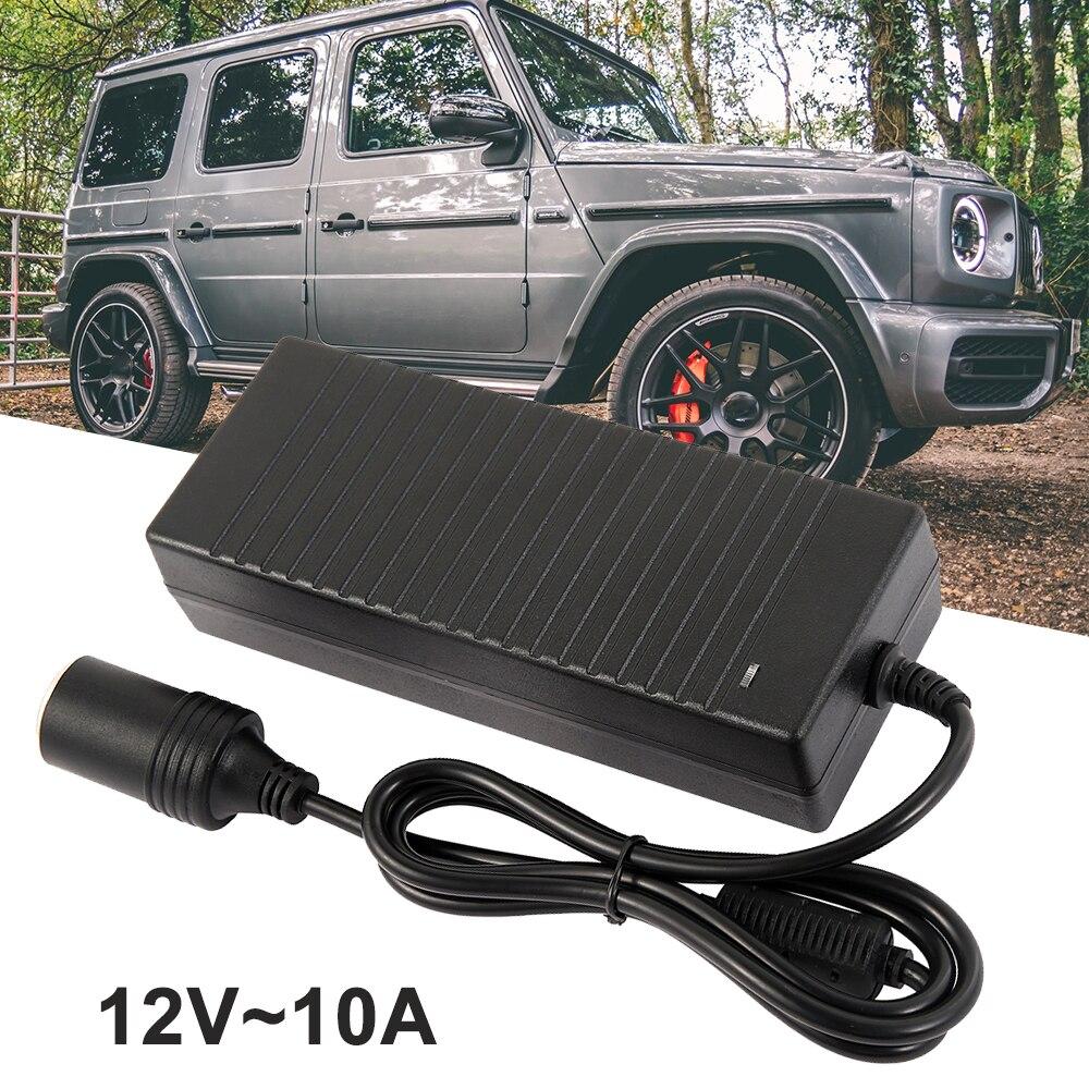 AC / DC car cigarette lighter power converter [p] -PVC-220V to 12V10A-European regulations