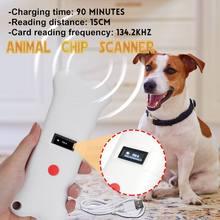 Scanner Pet-Microchip Rfid-Reader Animal Horse-134.2khz for Dog Cat USB Handheld