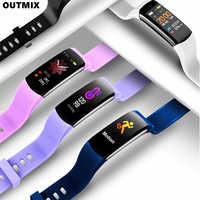 Reloj deportivo inteligente para hombre y mujer, reloj de pulsera para Android e Ios, resistente al agua