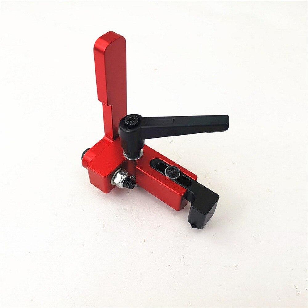 Woodworking T-Track T-Slot Clamp Tools Metal Quick Acting Hold Down Clamps 8MM DIY Carpenter Pressboard Clamp Pressure Block