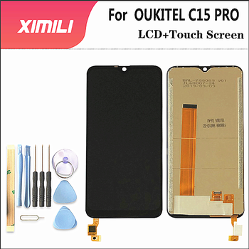 6.09 inch For OUKITEL C15 PRO LCD Display+Touch Screen Digitizer Assembly 100% Original LCD+TouchDigitizer for  C15 PRO+Tools for oukitel k6000 plus lcd display touch screen digitizer for oukitel k6000 plus display screen lcd phone parts free tools