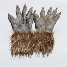Costume-Accessory Claw-Gloves Latex Animal Cosplay Adult Halloween Wolf Party-Decor Festival