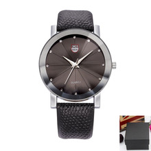 Wholesale Brand Watch Mens Fashion Leather Band Casual Luxury Business Quartz Gifts Wristwatches With Box Relogio Masculino 1766 oulm luxury brand mens leather band quartz watch three time zone male military army wristwatches with gift box relogio releges