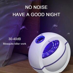 Image 4 - USB מופעל יתושים רוצח מנורת חשמלי אנטי יתושים lampara antimosquitos 360 ° חרקים רוצח קוטל יתושים מלכודת אור