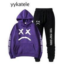 2020 nouveau yykatele sweat à capuche ptit peep + pantalons de survêtement pour hommes et femmes