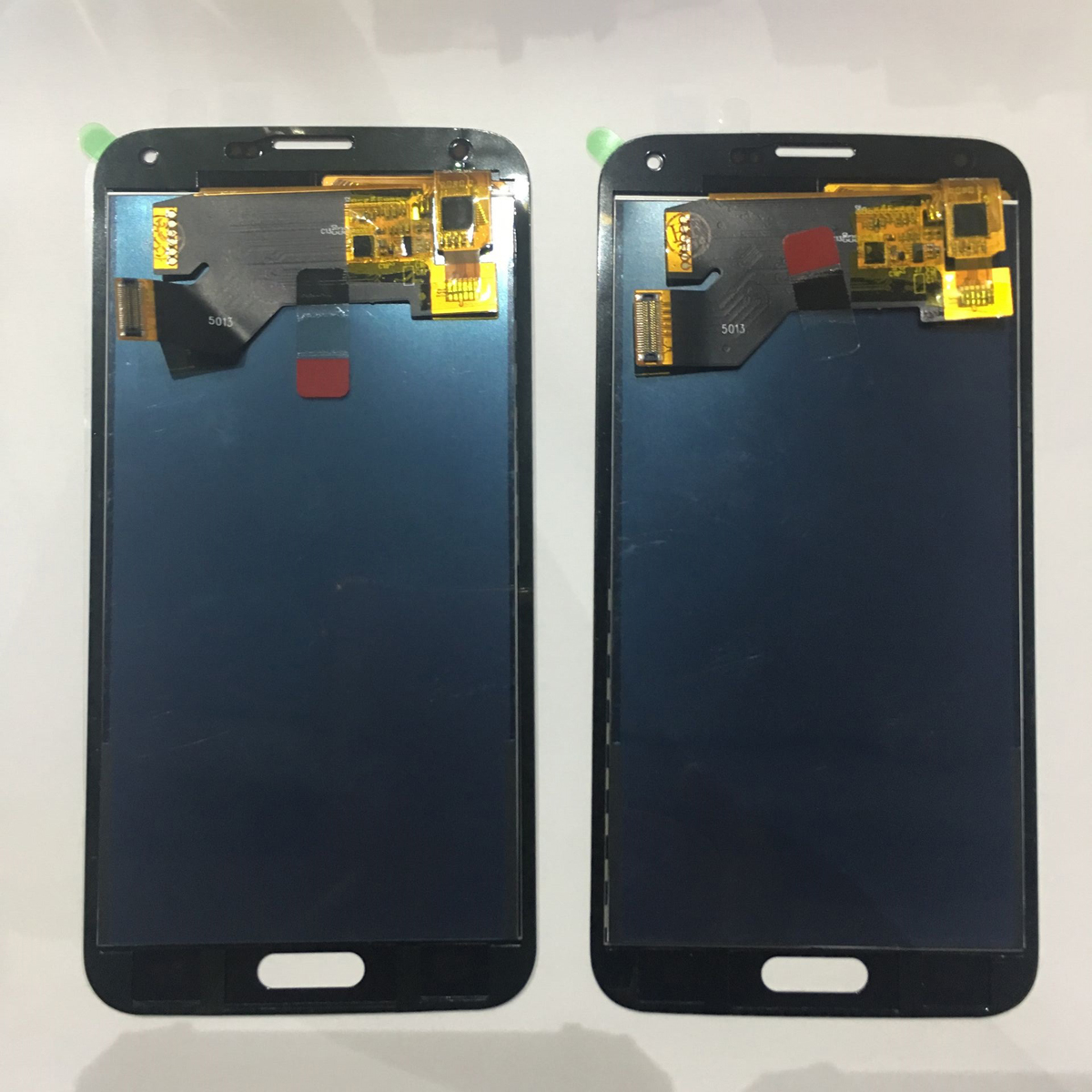 <font><b>G900F</b></font> <font><b>LCD</b></font> For Samsung S5 <font><b>LCD</b></font> <font><b>G900F</b></font> G900A <font><b>LCD</b></font> Display G900P G900T G900V Touch Screen Digitizer for Galaxy s5 replacement Parts image