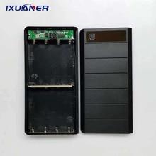 Type-C Input 2 USB Ports 8x18650 Battery Box Case Charger Bo