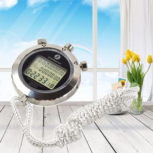 Image 5 - 金属デジタルタイマースポーツストップウォッチ防水メモリカウンター耐磁クロノグラフファッショナブルな防水タイマーPS 538