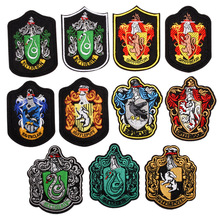 Гарри Поттер заплата вышивки одежды значок 3 дюймов тепло вырезаный переводная картинка поддержка