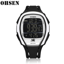 Montre Sport-Watches Sports-Clock Multi-Function Digital OHSEN Water-Resistant Hour Mens