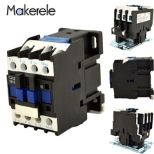 CJX2 Series 380V AC Contactor 9A 12A 18A 25A 32A 40A 50A 65A 80A 95A 3 Phase 3-Pole Coil Voltage Mounted 3P+1NO Contactor