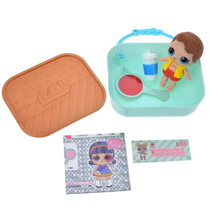 Совершенно новые оригинальные куклы LOL сюрприз волосы цели DIY lol Домашние животные игрушка обучающая Новинка для детей на день рождения Рождественский подарок