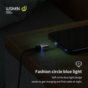 Image 3 - Wsken كابل USB مغناطيسي شحن USB C نوع C كابل آيفون المغناطيس شاحن تهمة مايكرو كابل لسامسونج الهاتف المحمول الحبل