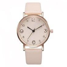 Top Style Fashion Women's Luxury Leather Band Analog Quartz WristWatch Gold Ladies Watch Women stylish Dress Reloj Mujer Clock