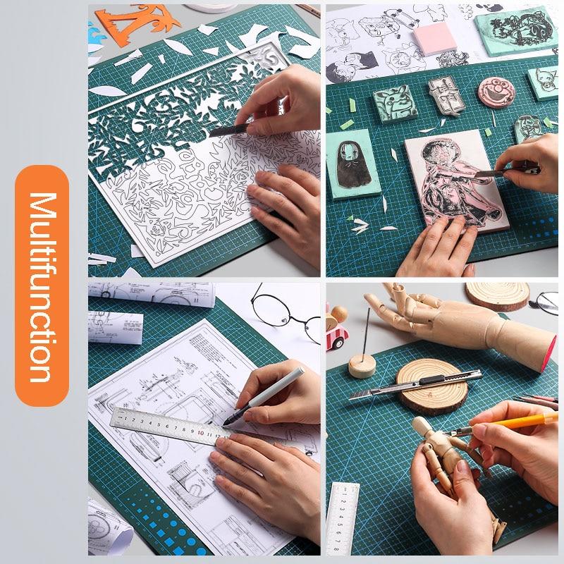 Top SaleKnife-Pad Board Sculpture-Tool Cutting-Mat Writing-Cutter Self-Healing DIY Hand A3 Multifunction