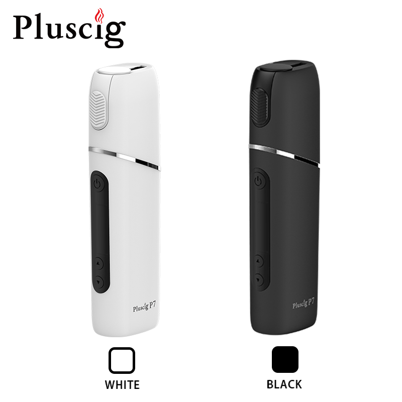 Pluscig P7 charged electronic cigarette vape Box up to 38-45 continuous smokable compatibility with Heating Tobacco stick 1