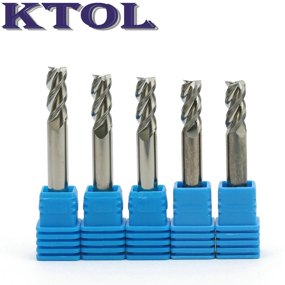 1pcs 8×20×8×60×3F Carbide End Mill Bits Milling Cutter for Aluminum 8mm 3-Flutes