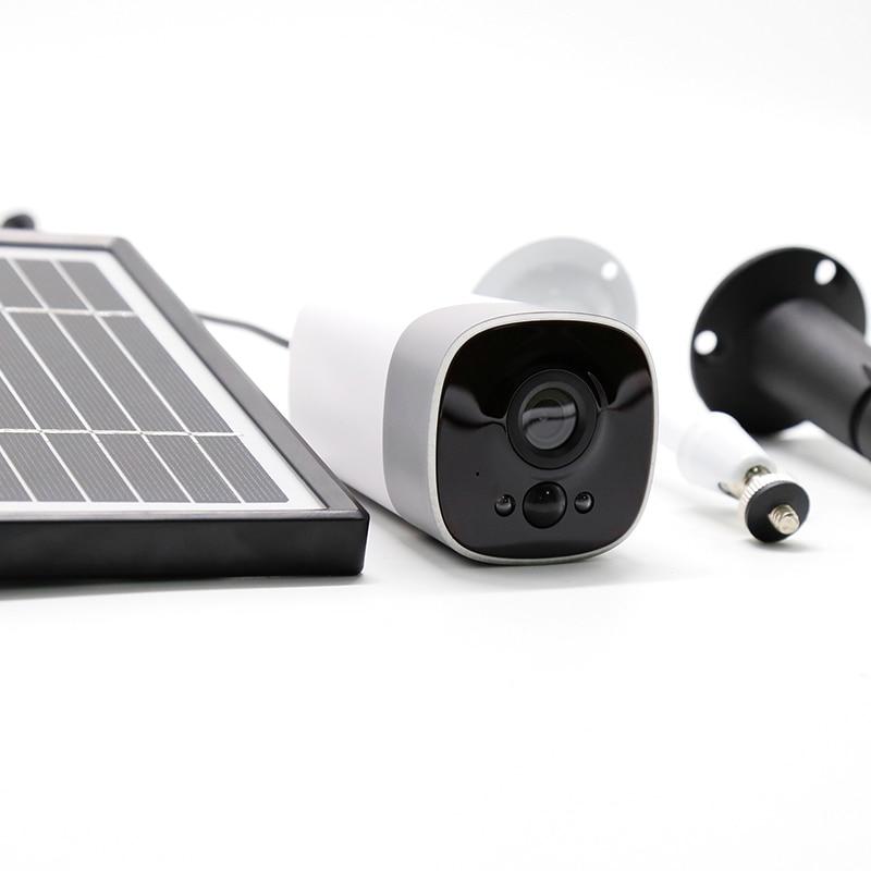 Image 5 - Solar wireless camera outdoor night vision waterproof camera WiFi remote surveillance camera 1080P wide angle lens camera