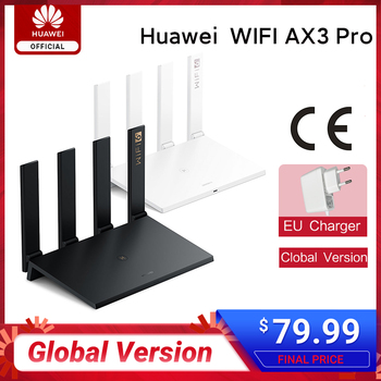 New Arrival Global Version Huawei Router WIFI AX3 Pro 2.4GHz&5GHz Quad Core Wi-Fi 6 Plus 3000Mbps Wireless Smart Home Router AX3