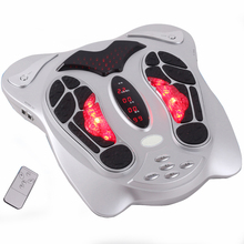 Far Infrared Electric Antistress Foot Massager Vibrator Foot Massage Machine Infrared Foot Care Device with Heating & Therapy