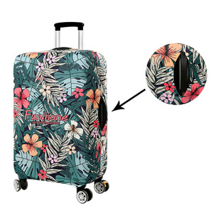 Image 2 - BAMADER Waterproof Luggage Cover Thick Wear resistant Trunk Lid High Elastic Suitcase Travel Accessories Suitcase Dust Cover