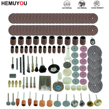 161pcs Mini Drill Bit Set Abrasive Tools Grinding Sanding Polishing Cutting Tool Kit for Dremel Accessories Set
