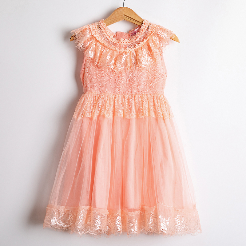 H1639ee7f657d4270bc8e4e519707d971H Girls Dress 2019 New Summer Brand Girls Clothes Lace And Ball Design Baby Girls Dress Party Dress For 3-8 Years Infant Dresses